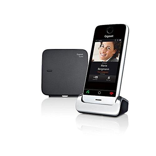 Gigaset SL910 Telefon - Schnurlostelefon / Mobilteil - mit Farbdisplay / Design Telefon / schnurloses Telefon - Freisprechen - schwarz - 3