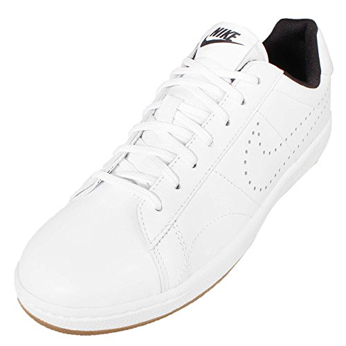Nike W Tennis Classic Ultra Lthr, Chaussures de Sport Mixte Adulte Blanco (White / White-Black)