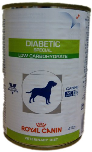 Royal Canin Diabetic Special Low Carbohydrate Nassfutter für Hunde - Bei Diabetes mellitus 1x410g -