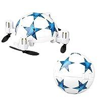 MML Mini Helicopter Toy RC Drone mini Folding drone World Cup Football Folding Remote Control RC Quadcopter Micro Mini Aerocraft