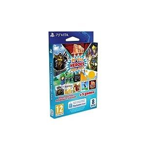 Mega Pack Heroes Speicherkarte 8GB inklusive DLC für 6 Heroes Spiele
