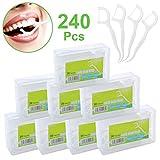 Zahnseide 240 Stk. Zahnseide Sticks 8er Pack Dental Floss für