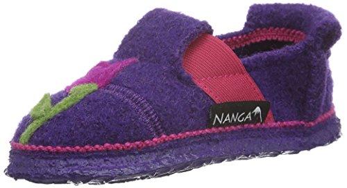 Nanga Flower Fairy, Chaussons fille Violet - Violett (pflaume / 49)