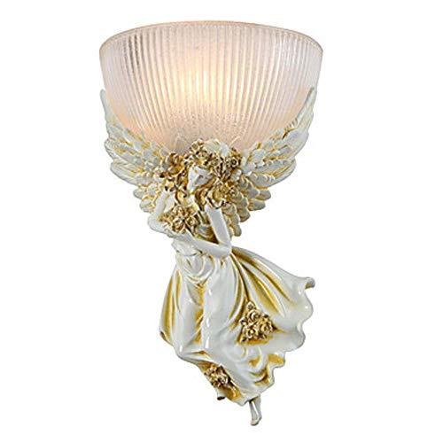 LJ Angel White Gold Hooked Glass Land/Hütte Traditionell/Klassisch Modern/Zeitgenössisch Wandleuchte Und Wandleuchte Wandleuchte Aus Harz 40W -
