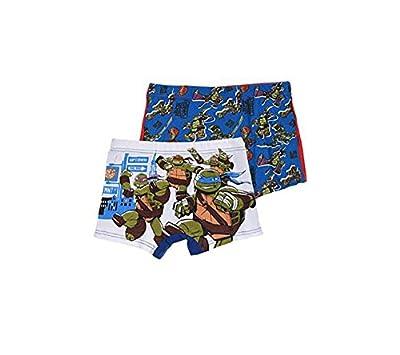 Tortues Ninja - Boxers Turtles garçon ( lot de 2 ) Taille de 2 à 8 ans
