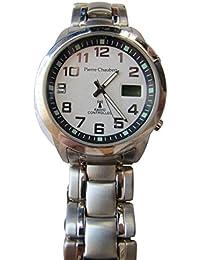 Pierre pantalones Bert Herren-reloj analógico de pulsera - Digital cuarzo acero inoxidable RADDSS39SV24
