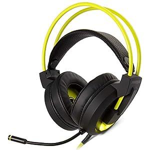 snakebyte PC HEAD:SET PRO – 7.1 Virtual Surround Sound – Bass Boost – LED beleuchtetes Mikrofon – Mute-Bass Boost + Volume Control am Kabel