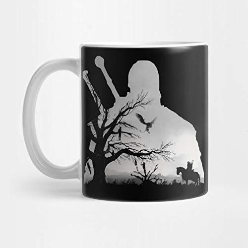 Llynice Taza de café de 324 ml de Witcher