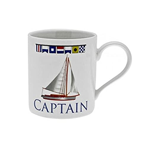 Fun Daisy Captain Mug Tea Coffee Drink Gift Fine China Work Home Mugs Set Novelty Sport by Fun Daisy Home Series