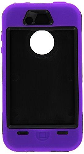 Retail Mobile Body Armor Defender Schutzhülle für iPhone 4/4S, Violett und Schwarz