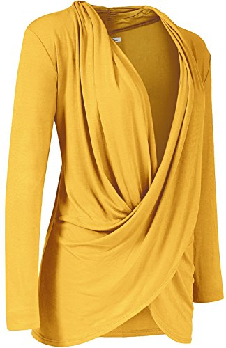 bodilove-womens-elegant-long-sleeve-criss-cross-draped-front-top