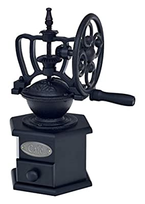 Victor Cast Iron Coffee Grinder, Black, 19 x 12 x 25 cm