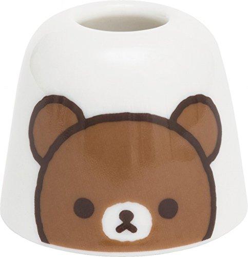 rilakkuma-porta-spazzolino-supporto-in-ceramica-brown-koguma-dal-giappone