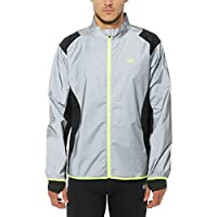 Ultrasport Men's Running/Bike Jacket UltraVisible reflective