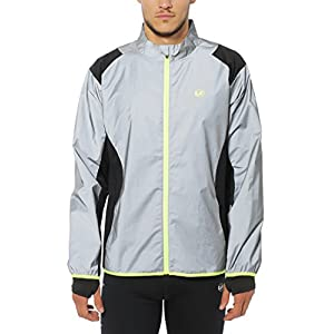 Ultrasport Herren Lauf-/fahrradjacke Lauf-fahrradjacke UltraVisible