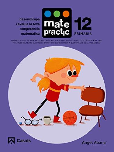 Quadern Matepractic 12 Primària - 9788421858455 (Matepractic català)