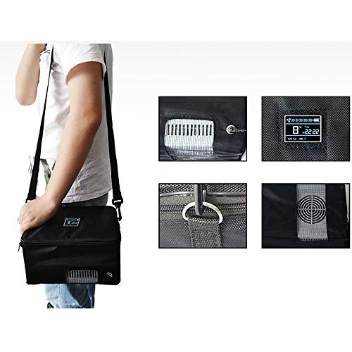41pfx0FNjKL - Refrigerador PortáTil De Insulina Mini Refrigerador Enfriador EléCtrico Nevera Coche Refrigerador De Medicamentos para El Hogar Oficina Viajes 2-18 ° C Negro