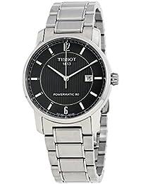Herren-Armbanduhr XL Analog Automatik Edelstahl T087.407.44.057.00