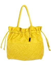 Comma Femmes Cabas Tote bag jaune 83-302-94-5733-YE