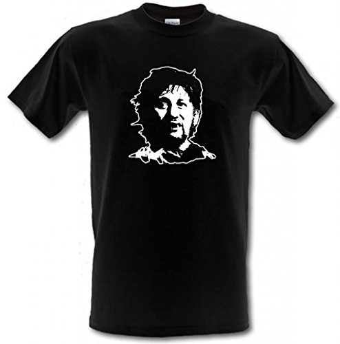 Preisvergleich Produktbild Shane MacGowan The Pogues Irish Punk T-Shirt im Che-Guevara-Stil aus Baumwolle, Größe S–XXL, schwarz