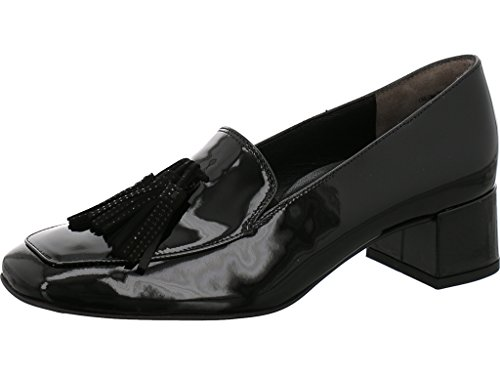 Paul Green Hochfront Pumps Größe 39 Black/Black