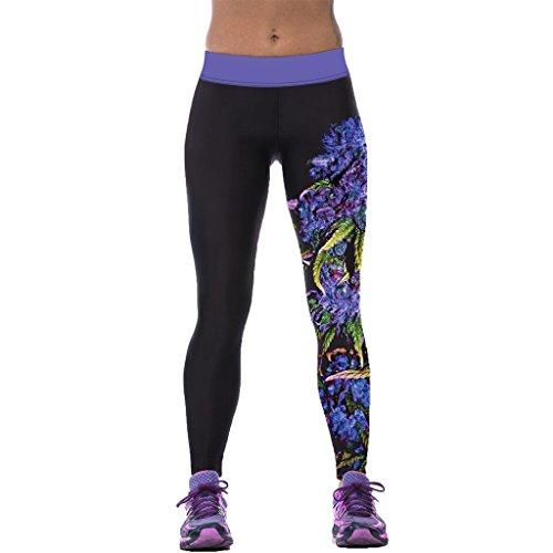 Klassische Redbud Muster Sportlich Lässige Leggins Weibliche Elastische Nahtlose Strumpfhose
