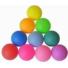 Xiton Bolas del Color, Bola plástica del Tenis de Tabla, Bolas heladas múltiple-