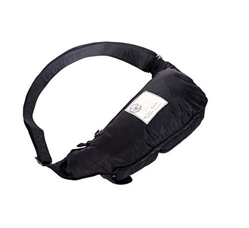 Innturt Bodybag-Rucksack, Nylon New Moon-Black