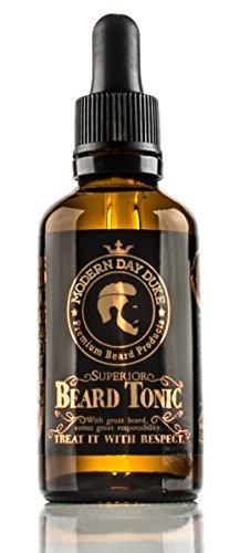 Tónico Superior Modern Day Duke para barba - aceite para el crecimiento de la barba y el aumento del vello facial - Botella grande 50ml