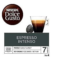 NESCAFÉ Dolce Gusto | Capsulas de Café Espresso Intenso | Pack de 3 x 16 Cápsulas - Total: 48 Cápsulas