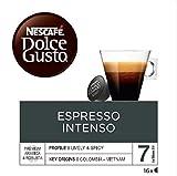 NESCAFÉ Dolce Gusto Cápsulas de Café Espresso Intenso - Pack de 3 x 16 Cápsulas - Total: 48 Cápsulas