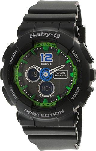 Casio Damas Baby-G Cuarzo: Batería JAPAN Reloj (Modelo de Asia) BA-120-1B