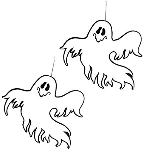 SEY TOYS Vliesstoff-Geister Wand Hängende Ornamente Halloween-Familie Party-Szene Hängen, Halloween-Ghost-Dekoration (Zwei ()