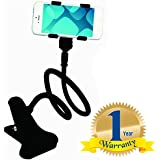Rextan Universal Flexible Car Mobile Phone Mobile Holder Stand Compatible With IOS And Android Smartphones (One Year Warranty)