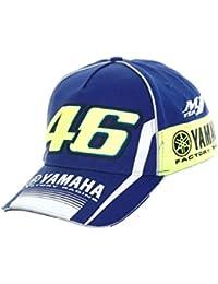 Casquette Snapback Valentino Rossi Yamaha Racing Line Bleu (Default , Bleu)