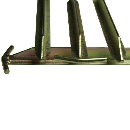 10T Zeltheringe – Stahl T-Profil, 4er-Set - 10