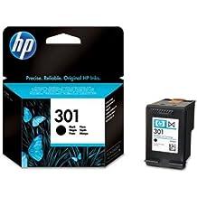 HP 301 - Cartucho de tinta para impresoras (Negro, 190 páginas, Negro, 20 - 80%, -40 - 60 °C, 15 - 32 °C)
