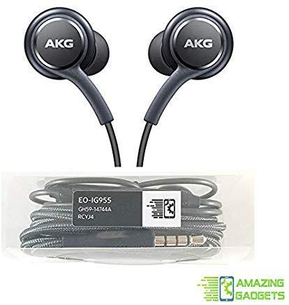 Auriculares estéreo OEM para Samsung Galaxy S8 S9 S8 Plus S9 Plus Note 8 9 - Diseñado por AKG - con micrófono