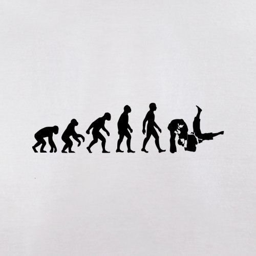 Evolution of Man - Judo - Damen T-Shirt - 8 Farben Weiß