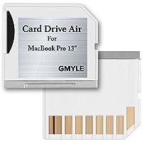 Macbook Adattatore Micro SD (TF) GMYLE per schede di memoria flash, compatibile con Macbook Air 13 (Non è compatibile con Macbook Pro)(Bianco)