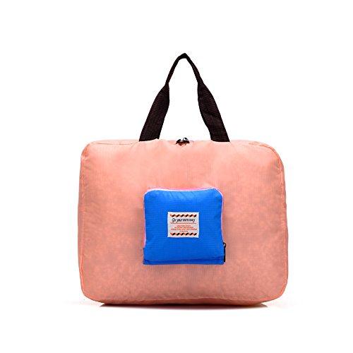 Oxford Tuch Organizer portable Reisen Lagerung zusammenklappbar Tasche kleine Kosmetiktasche Orange