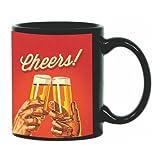 Printland Cheers Black Coffee Mug 350 - ml best price on Amazon @ Rs. 299