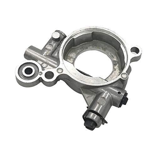 Cancanle Ölpumpe, Schneckengetriebe, Ölschlauch, Filter-Set für Husqvarna 365 371 372 XP 372XP 362 Kettensäge Oil Pump