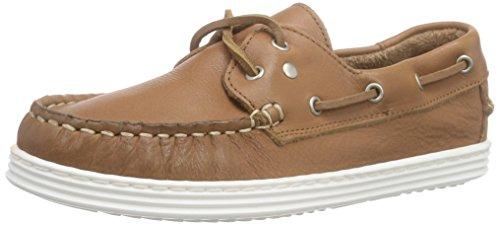 Bisgaard Shoe with Laces, Chaussures Bateau Garçon Brun (48 Nougat)