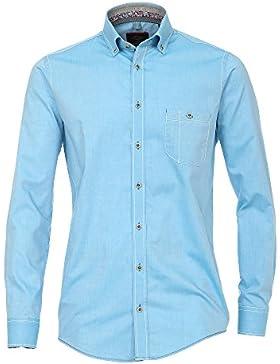 CASAMODA Herren Freizeithemd auch große Größen 100% Baumwolle - Casual Fit