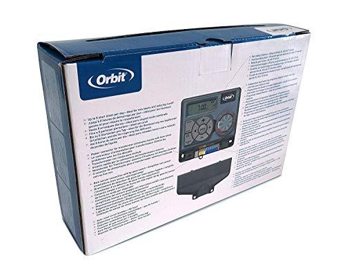 Orbit 94886 Pocket Star Ultra 6 Timer per Sprinkler Interno Easy Dial