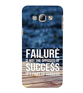 EPICCASE Failure is part of success Mobile Back Case Cover For Samsung Galaxy A5 (Designer Case)