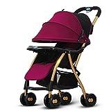 Poussette bébé Une clé pour recevoir légère voiture pliante bébé voiture 1-3...