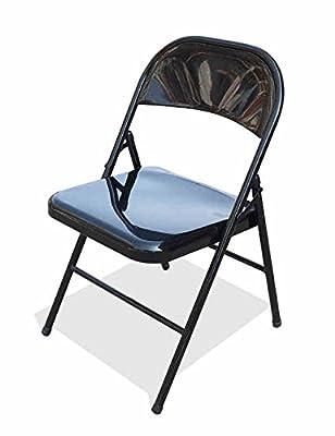 MAZHONG Hocker Stahlklappstühle Aktivitäten im Freien Training Stühle Besprechungsstühle Bürostühle Klapp Computer Stühle von MAZHONG auf Gartenmöbel von Du und Dein Garten
