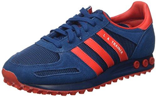 Adidas la Trainer, Scarpe da Ginnastica Uomo, Blu (Tecste/Red/Ftwwht), 42 2/3 EU